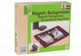 Natural Games Magnet-Backgammon, 22 x 33 cm
