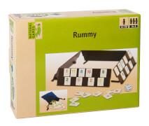 Natural Games Rummy, 106 Steine, Kombispiel, für 2-4 Spieler, ca. 20,5x15,7x4 cm, ab 5 Jahren