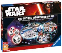 Ravensburger 266647 Star Wars - Die große Würfelrebellion, Familienspiel