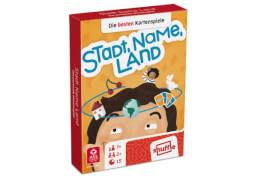 ASS Stadt, Name, Land. Kartenspiel