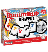 Jumbo 81509 - Rummikub Graffiti, für 2-4 Spieler, ca. 20 min, ab 7 Jahren