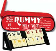 Reise-Rummy mit 106 Spielsteinen, in der Reißverschlusstasche, ab 6 Jahren