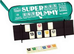 Super Rummy, für 2-6 Spieler, in der Reißverschlusstasche