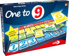 NORIS One to 9, 2-4 Spieler, ab 8 Jahre