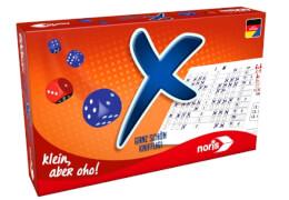 Noris ''X, Ganz schön Knifflig!'', Spieldauer: ca. 15-30 min