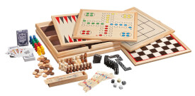 Philos Holz-Spielesammlung 10