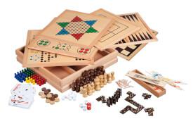 Philos Holz-Spielesammlung 100 Premium