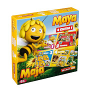 Biene Maja 3D, 4in1 Spielebox