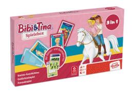 ASS Bibi&Tina - Spielebox. Kartenspiel