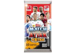 Match Attax Extra Booster 2018/2019