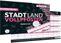 STADT LAND VOLLPFOSTEN® - GIRLS EDITION (DinA4-Format)