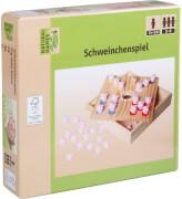 Natural Games Schweinchen Würfelspiel 18x18x4 cm