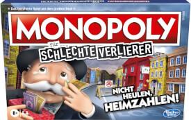 Hasbro E9972100 Monopoly für schlechte Verlierer