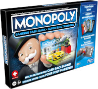 Hasbro E8978149 Monopoly Banking Cash-Back Schweiz