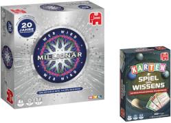 Wer wird Millionär + Spiel des Wissens Kartenspiel
