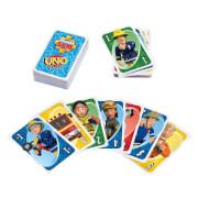 Mattel HFC80 Mattel Games UNO Junior Feuerwehrmann Sam, Kartenspiel für Kinder ab 3 Jahren