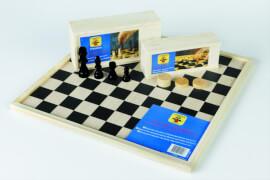 Engelhart Schachfiguren Ahorn, 76 mm