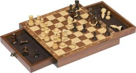 GoKi Magnetisches Schachspiel mit Schubladen