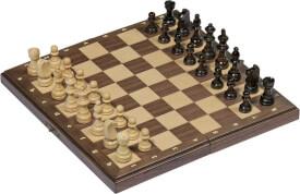 GoKi Magnetisches Schachspiel in Holzklappkasten