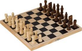 GoKi Schachspiel in Holzklappkassette