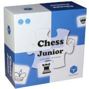CUBES ART Chess Junior # Das Schachspiel für Kinder, blau/weiß