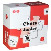 CUBES ART Chess Junior # Das Schachspiel für Kinder, rot/weiß