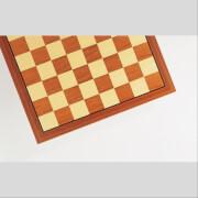 Schachbrett Teak + Ahorn Intarsie FG 45 mm