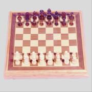 Longfield Schachspiel 40 x 40 Königshöhe 87 mm
