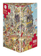 Puzzle Heaven and Hell Triangular 1500 Teile