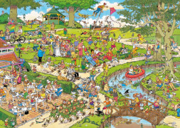 Jumbo 01492 Puzzle Jan van Haasteren, The Park, 1000 Teile