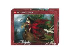 HEYE Puzzle - Cris Ortega - Swans - 1000 Teile