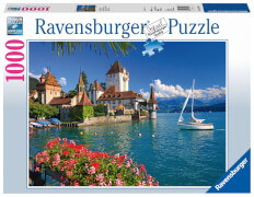 Ravensburger 19139 Puzzle Am Thunersee, Bern 1000 Teile