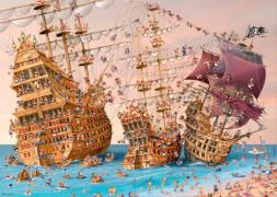 HEYE Dreieckspuzzle - Francois Ruyer - Corsair - 1000 Teile