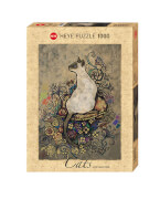 Puzzle Cats Siamese Standard 1000 Teile