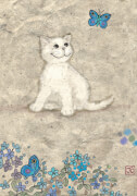 Cats White Kitty Standard 500 Teile