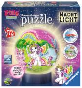 Ravensburger 121571  3D Puzzle-Ball Nachtlicht Filly Welt 72 Teile
