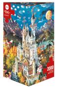 HEYE Dreieckspuzzle - Michael Ryba - Bavaria - 2000 Teile