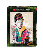 HEYE Puzzle - Johnny Cheuk - Audrey - 1000 Teile