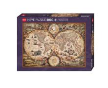 Puzzle Vintage World Standard 2000 Teile