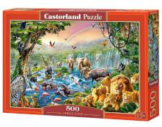 Spielwaren: Jungle River, Puzzle 500 Teile