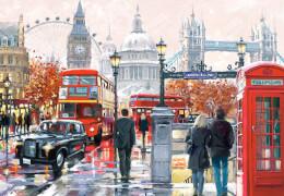 Spielwaren: London Collage,Puzzle 1000 Teile
