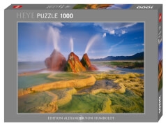 HEYE Panoramapuzzle - Alexander von Humboldt - Fly Geyser - 1000 Teile