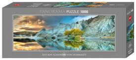 HEYE Panoramapuzzle - Alexander von Humboldt - Blue Lake - 1000 Teile