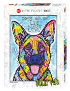 Puzzle Dogs Never Lie Standard 1000 Teile