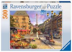 Ravensburger 14683 Puzzle Spaziergang durch Paris 500 Teile