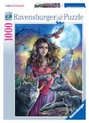 Ravensburger 19664 Puzzle: Patronin der Wölfe 1000 Teile
