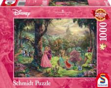 Schmidt Puzzle 59474 Thomas Kinkade, Disney Dornröschen, 1000 Teile, ab 12 Jahre