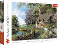 Puzzle 1000 Teile - Ein gemütliches Eckchen