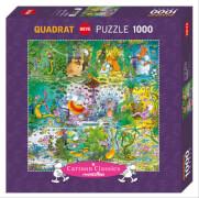 HEYE Puzzle Wildlife Square Puzzle 1000 Teile
