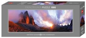 3 Peaks Panorama 1000 Teile